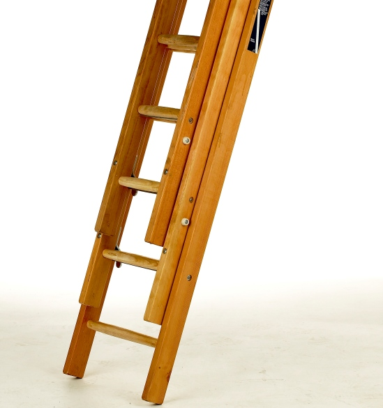 upcycle an old pair of ladders