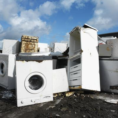 broken home appliances
