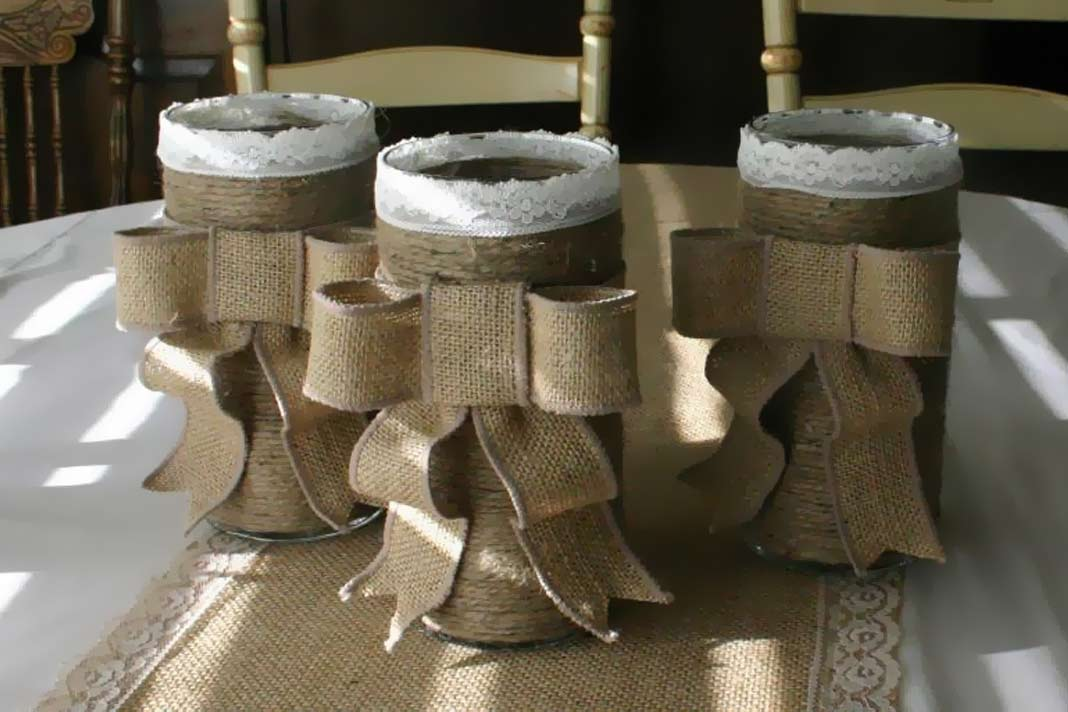 ways you can use burlap for home décor