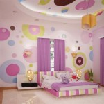polka dots kids room decor ideas