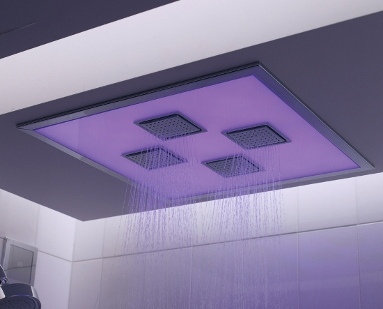 electronic shower system