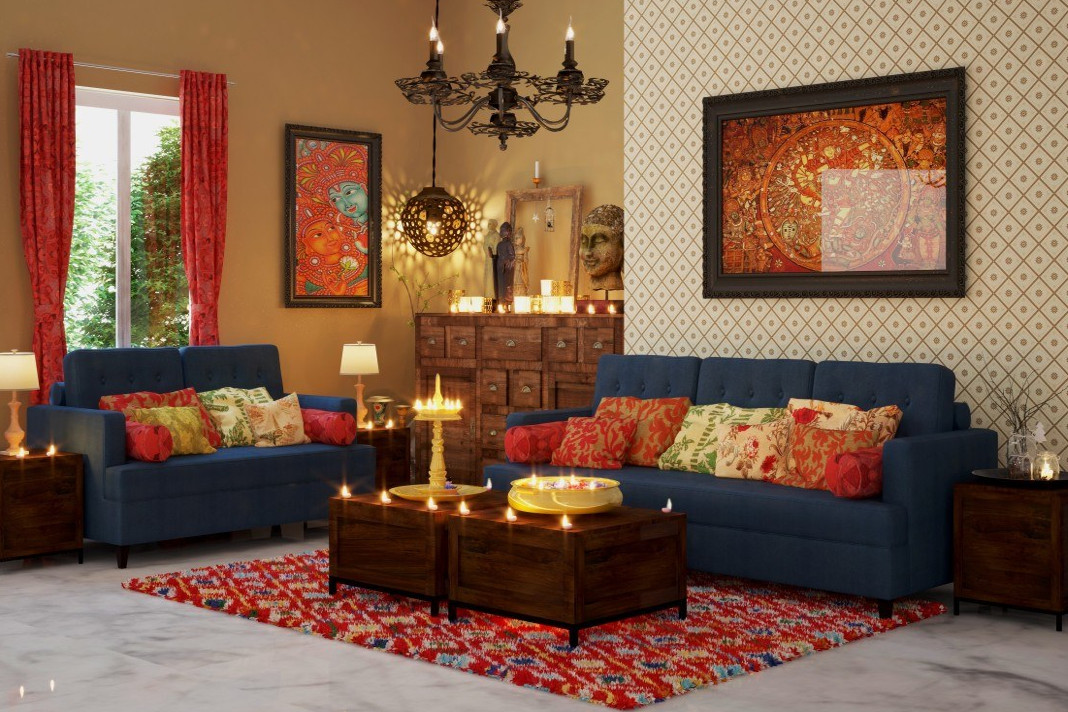 5 essentials elements of traditional indian interior for Indian house decor