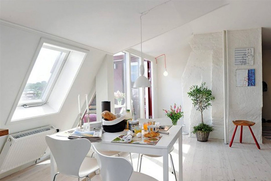 21 modern and inspirational dining room designs home for Inspirational dining room ideas