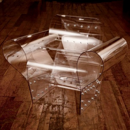 well transparent chair