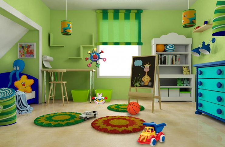 35 Colorful and Stylish Kids Room Designs
