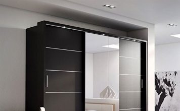 Wardrobes with mirror